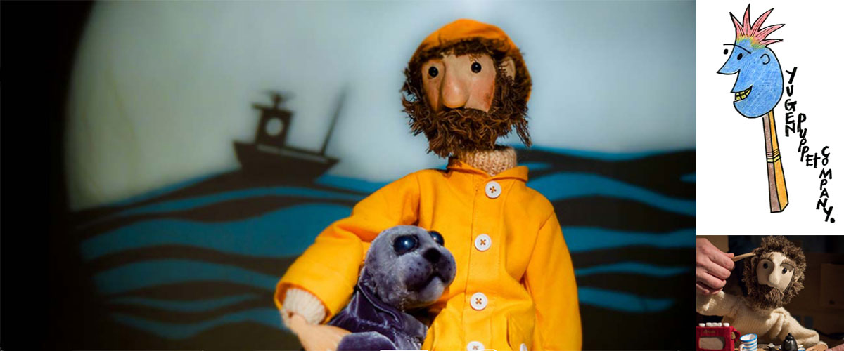 Yugen Puppet Co: The Fisherman and The Seal